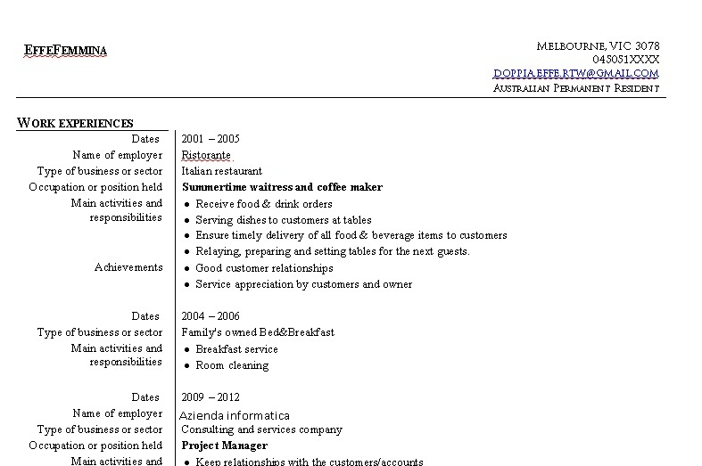 barista cover letter resume sample howard chen the ceo of